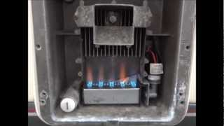 Carver Cascade 2 Water Heater in an Autosleeper Duetto Motorhome