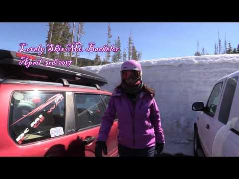 Lovely Skis Mt Bachelor April 3rd 2017