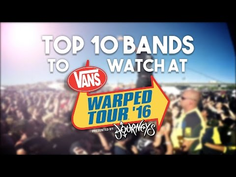 Top 10 Bands To Watch At Warped Tour 2016 (Caliber Countdown #1) Mp3