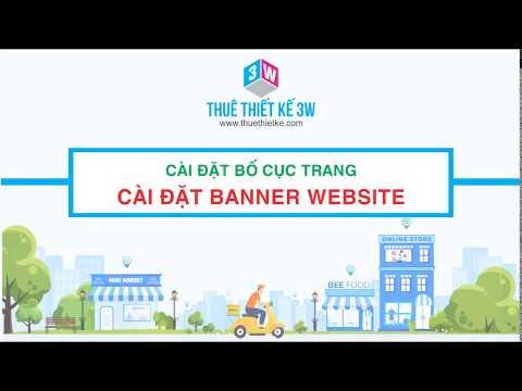 Tạo Website Miễn Phí Google Site 04: Tùy chỉnh Banner trang web Google Site
