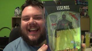 Marvel Legends Captain America: Civil War Falcon Walmart Exclusive Unboxing Toy Review
