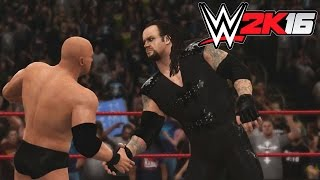 WWE 2K16 - X360 PS3 Gameplay / Undertaker