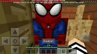 Minecraft homem aranha EP 7: simbiose