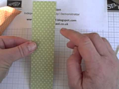 Stampin Up Easter Carrot Treat Pouch Tutorial
