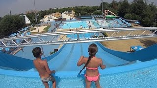 Scary Maxibon Water Slide at Acquatica Park
