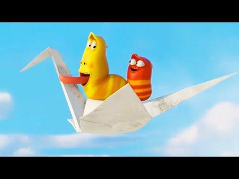Мультфильм бумажный самолетик