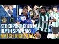 Stockport County Vs Blyth Spartans - Match Highlights - 14.10.17