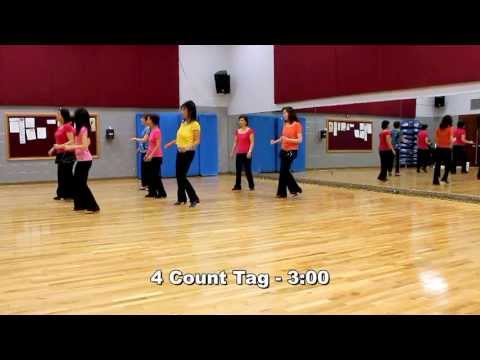 Conversation - Line Dance (Dance & Teach in English & 中文)