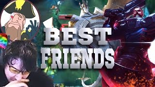 tobias fate only me and you dyrus we gonna be best friends   league of legends