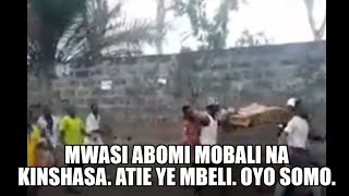 Ya somo: Mwasi abomi mobali na mbeli, na mpongi.Tala ndenge bazali ko boma ba congolais.