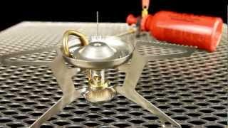 MSR Whisperlight Universal Stove - Gas or liquid, lightweight hybrid multi-fuel stove. Thumbnail