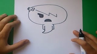 Como dibujar a Carrie paso a paso - El asombroso mundo de gumball | How to draw Carrie