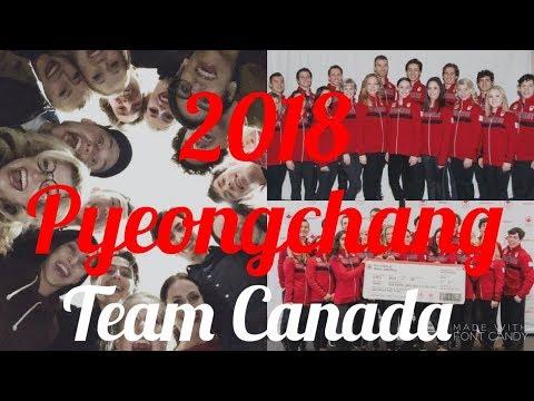 Pyeongchang 2018- Team Canada