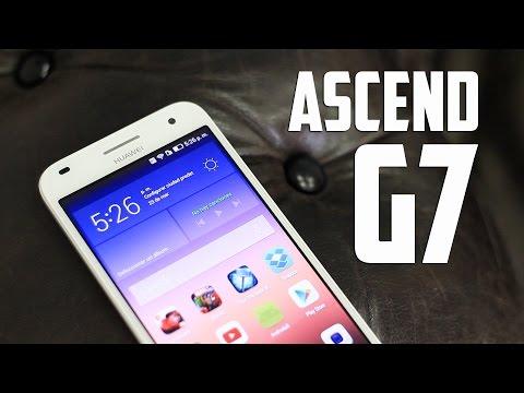 Huawei Ascend G7, Review en español