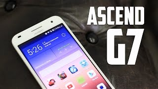 Huawei Ascend G7, Review en español