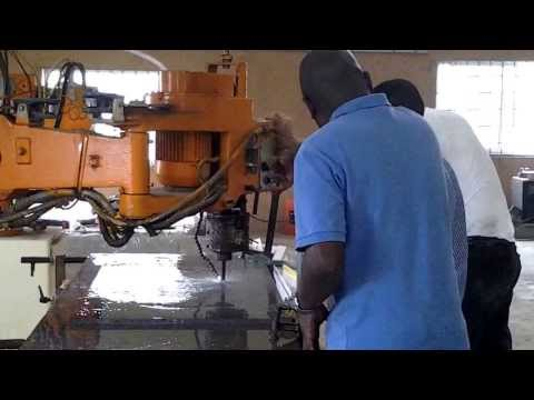 MANTOL NIGERIA, CNC MARBLE, GRANITE, STONE PROCESSING RAVELLI CONTORNATRICE