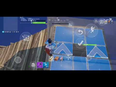 The EIGHT LAYER Ramp Rush On Fortnite MOBILE