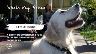 BATTLE BUDDY  RIVER THE SERVICE DOG