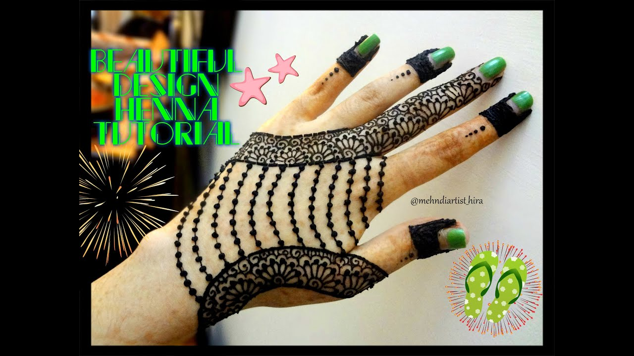 Mehndi For The Inspired Artist : Easy simple jewellery inspired henna mehndi designs for hands