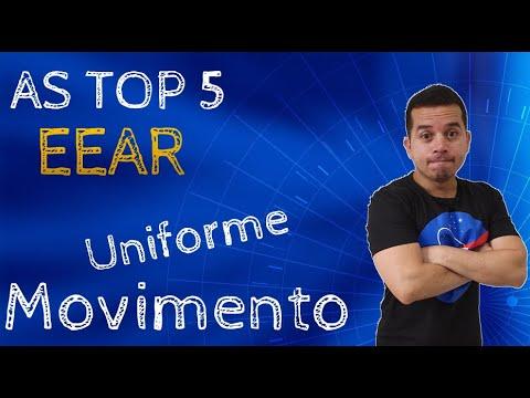 AS TOP 5 EEAR - MOVIMENTO UNIFORME
