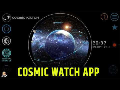 Cosmic Watch App review New
