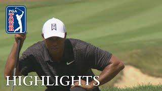 Tiger Woods' highlights | Round 2 | Bridgestone 2018