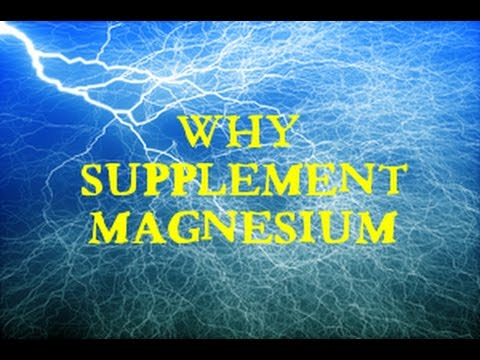 Why Supplement Magnesium
