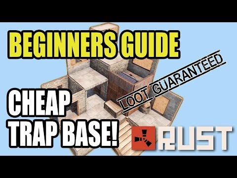 RUST | SIMPLE SOLO TRAP BASE FOR BEGINNERS (with electricity)! Loot guaranteed! thumbnail