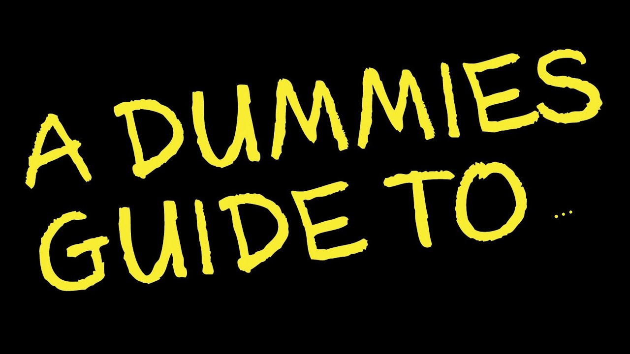 Dummies guide to how to fuck ass 5