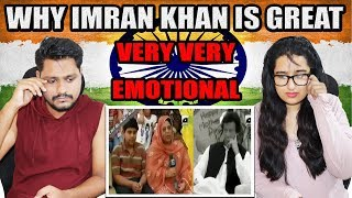Indian Reaction On Cancer patient Children's mother Say Thanks to Imran khan | Very Heart Touching