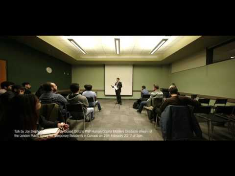 Ontario PNP Human Capital Masters Graduate Stream, Talk by Joy Stephen RCIC at the London Public lib