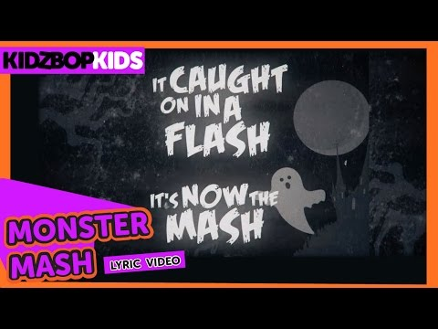 KIDZ BOP Kids  Monster Mash  Lyric  KIDZ BOP Halloween #ReadAlong
