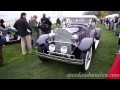 Cars arriving at the Pebble Beach Concours d'Elegance 2010-Part 1