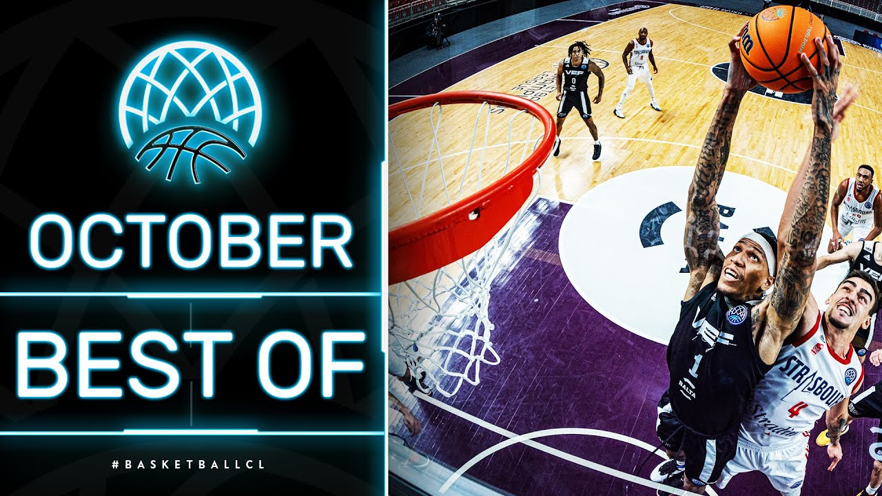 💥 Nice Dunks & Game-Winning Buzzer Beater | Best of October