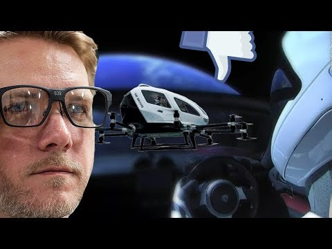 GtW: Tesla in Space, Drone Taxi's, Intel's Smart Glasses, New Star Wars series, and more!