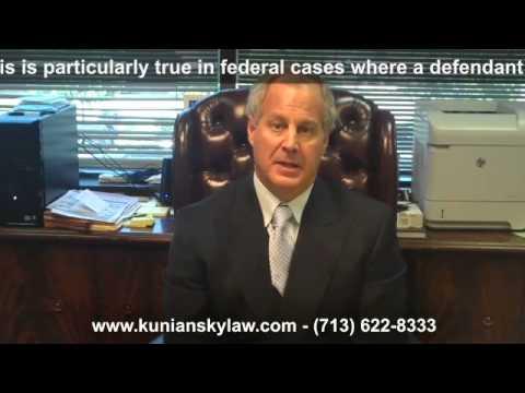 Houston Criminal Attorney: Federal Crimes