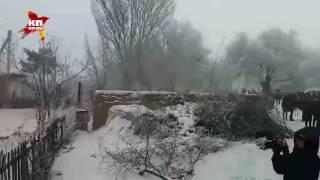 Падающий самолет в Бишкеке разрушил 15 домов