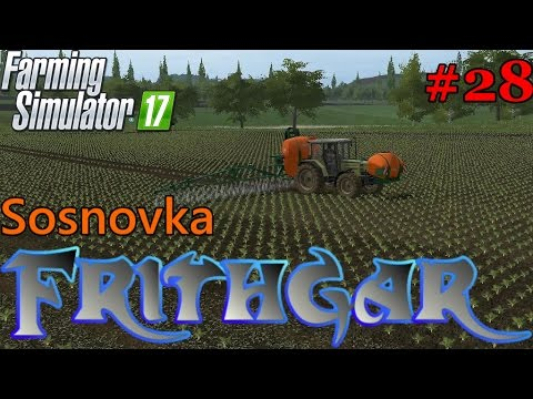 Let's Play Farming Simulator 2017, Sosnovka #28: Earning Money For A Mower!