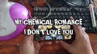 My Chemical Romance - I Don't Love You (Real Drum Cover)
