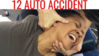 Chiropractor helps Auto Accident patients with NECK & SHOULDER pain