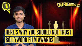 Bollywood Film Awards Are A Sham, But Here's Why | The Quint