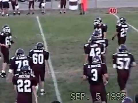 Benton Rangers At Sesser Valier Red Devils Sophmore Football Sept  5 1995