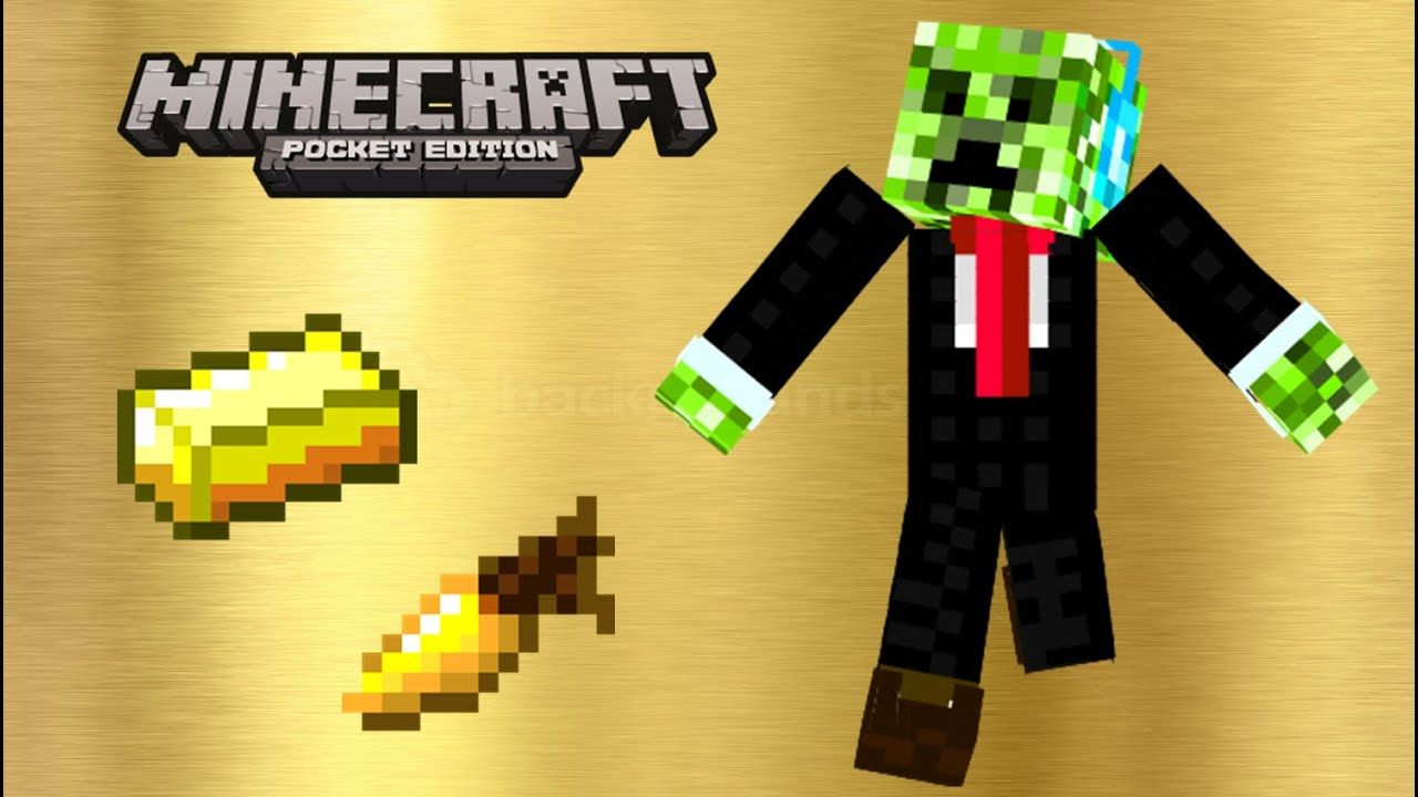 how to make a golden carrot in minecraft pe