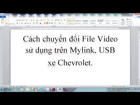 Hướng dẫn đổi đuôi các File video sử dụng cho USB và Mylink
