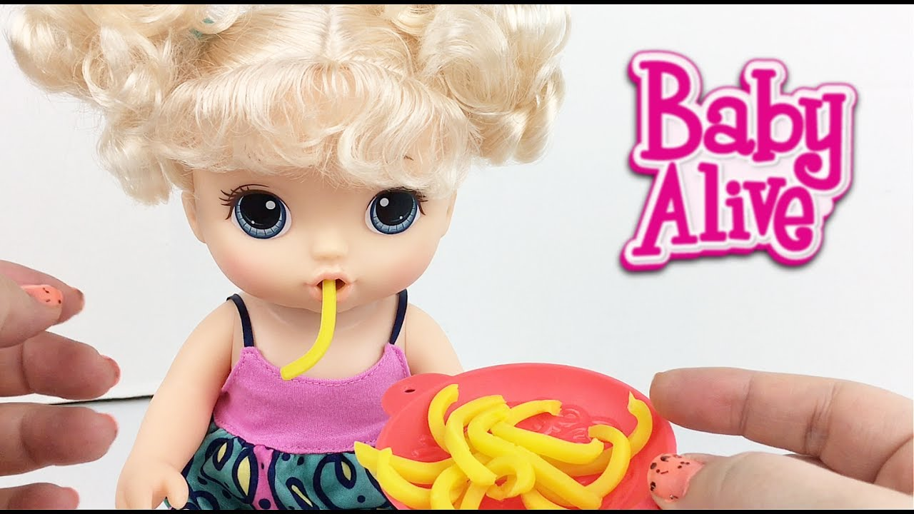 Baby Alive Super Snacks Super Snackin Noodles Baby Doll