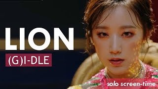 Gambar cover (여자)아이들 ((G)I-DLE) - 'LION'   Focus/Solo Screen-Time Ranking