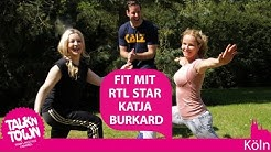 RTL Star Katja Burkard und ihr Fitnessgeheimnis - Talk'n Town