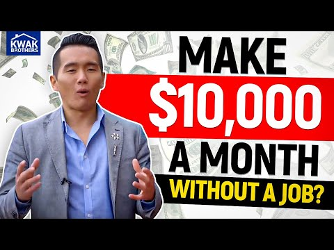 How to Make $10,000 A Month WITHOUT A JOB?!