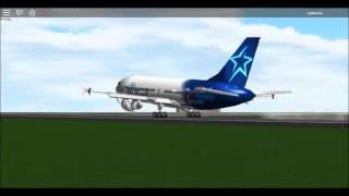 ROBLOX Air Transat A310-300 Smoothest Landing