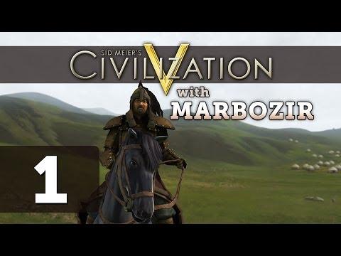 Civilization 5 Brave New World [Part 1] Deity Let's Play as Mongolia